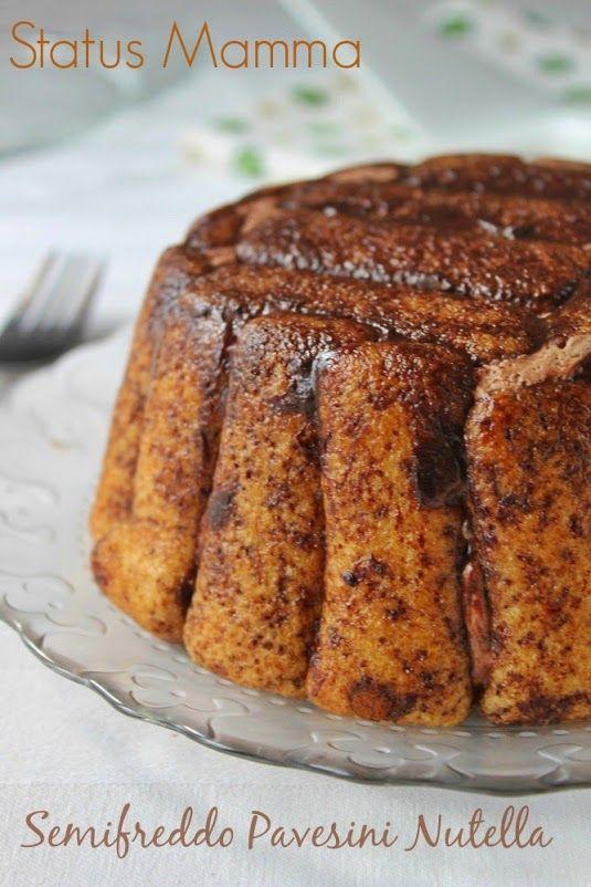 charlotte pavesini panna nutella ricetta economica facile veloce semifreddo bambini giallozafferano blogGz