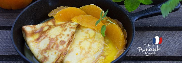 Crepes Suzette - francuskie naleśniki z aromatycznym syropem pomarańczowym #intermarche #naleśniki