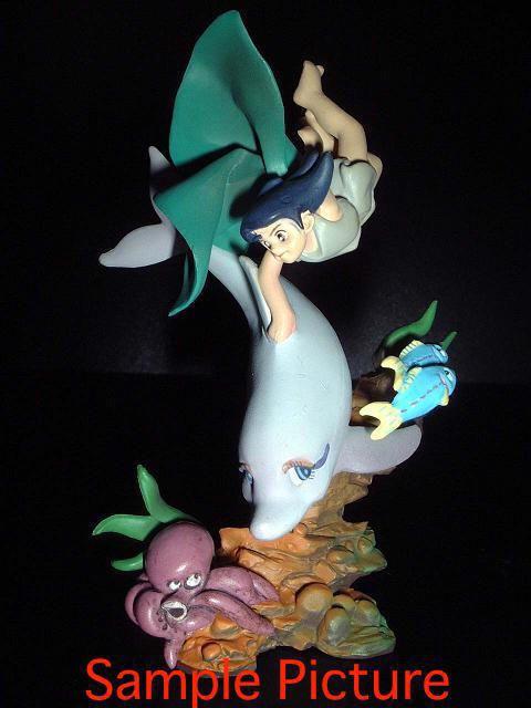 Tezuka Osamu Mini Vignette Diorama Figure Triton of the sea JAPAN ANIME MANGA