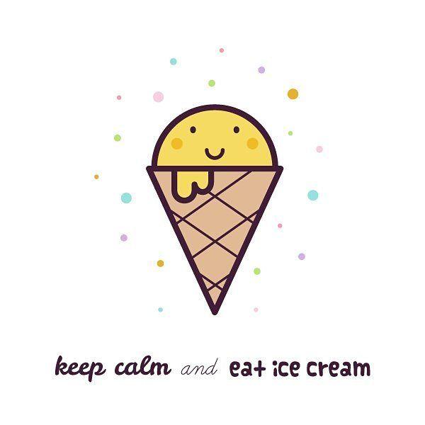 #drawing #illustration #icecream #cute #keepcalm #vector #lineart #digitalart #art #рисунок #мороженое #мороженка #творчество