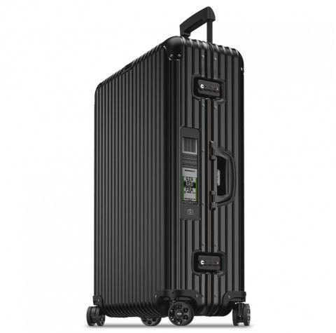 Topas Stealth Four-Wheel Extra Large E-TAG Suitcase 81.5cm - Silver