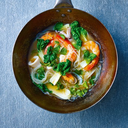 Nourishing Mixed Seafood Miso Broth | sheerluxe.com#.VQma1oLyHIU#.VQma1oLyHIU