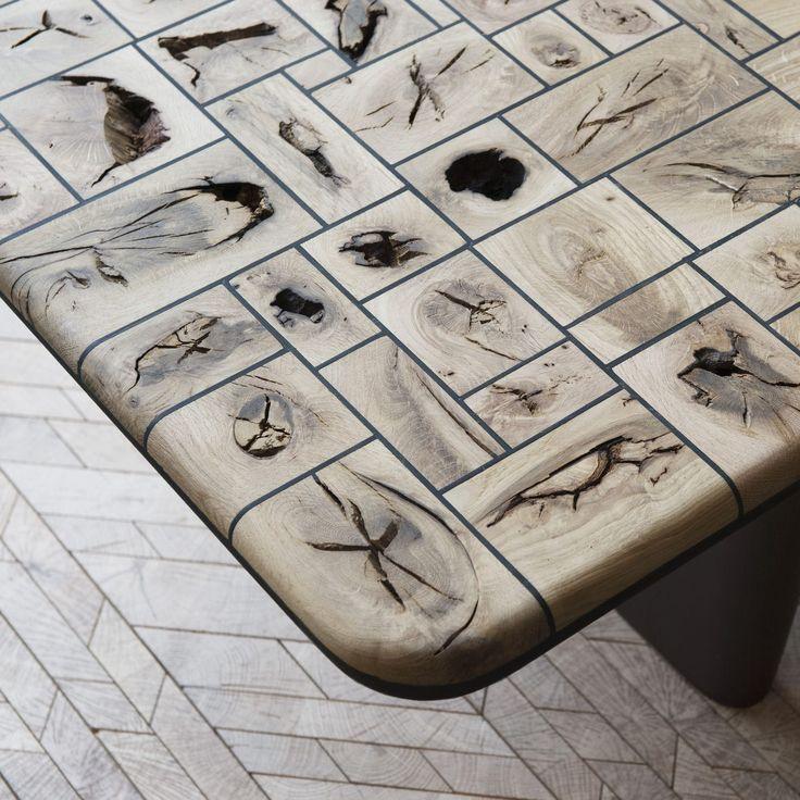 Panneau en bois contrecollé / pour meuble / pour plancher WOOD EYES SURFACE Oscar Ono | Wood Manufacture