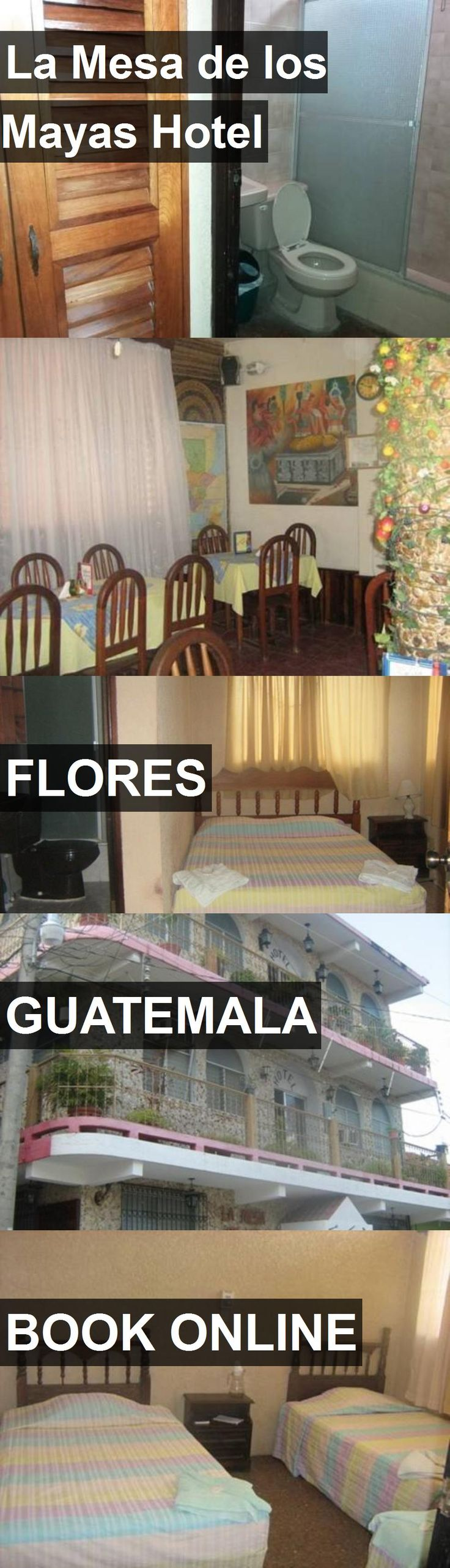 La Mesa de los Mayas Hotel in Flores, Guatemala. For more information, photos, reviews and best prices please follow the link. #Guatemala #Flores #travel #vacation #hotel