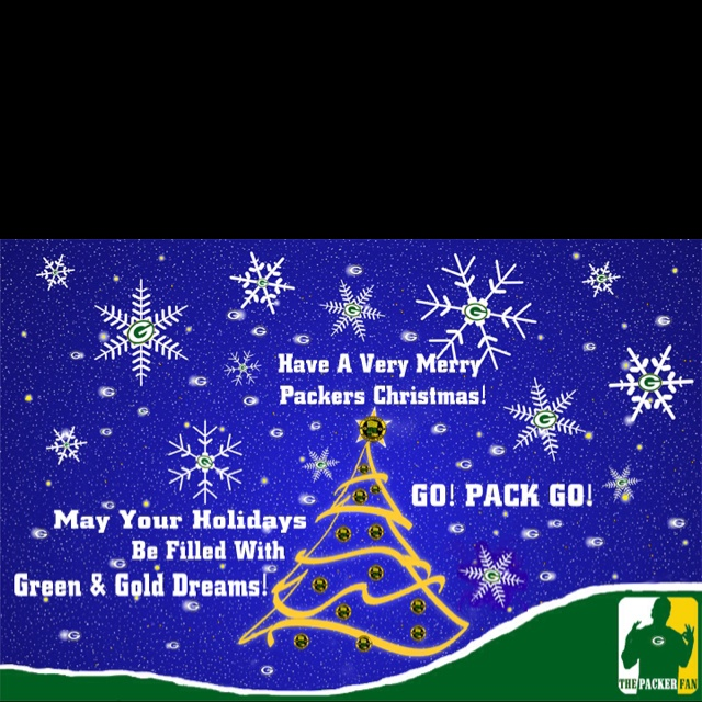 Have A Very Merry Christmas From The Packer Fan! Green Bays, Greenbay Packers, Packers Fans, Bays Packers