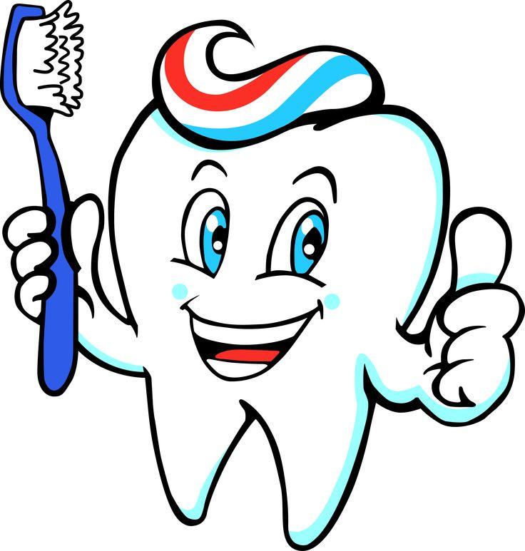 Картинка зуб на белом фоне для детей