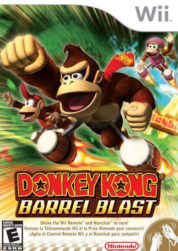 Amazon.com: Donkey Kong: Barrel Blast - Nintendo Wii: Video Games