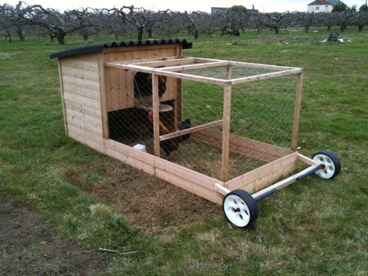 Easy mobile chicken tractor plans aen 82 cattle handling for Mobile hen house plans