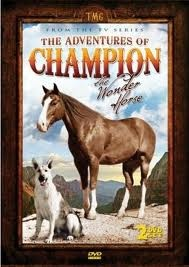 The Adventures of Champion the Wonder Horse 1955-56, broadcast in the UK in the 1970s