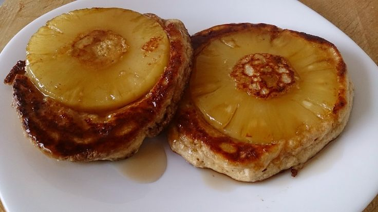 Suzanne's Kitchen : Pineapple upside down pancakes simply filling