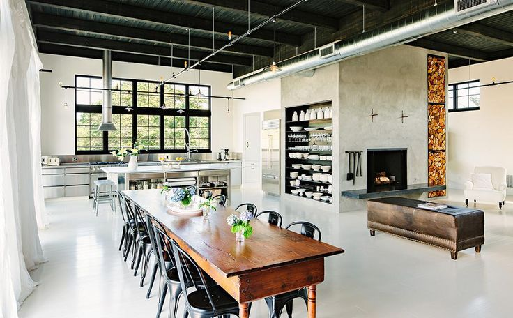 Modern ipari amerikai konyha
