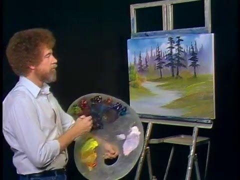 Bob Ross - Quiet Woods (Season 4 Episode 10) - YouTube