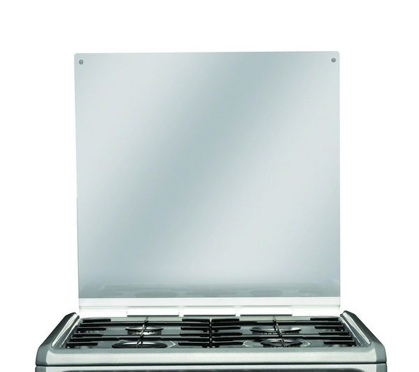 Stove HOTPOINT HUD61G Dual Fuel Cooker - Graphite