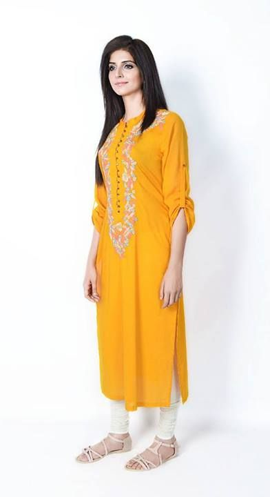 Eid Look Book Collection 2013 for Women Ethnic by Outfitters (4)