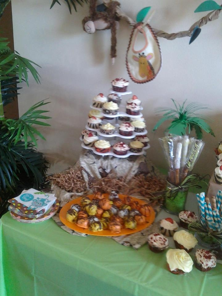 17 Best Images About Jungle Theme Baby Shower On Pinterest