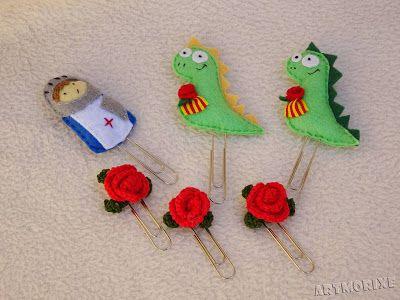 Marcapáginas especiales para Sant Jordi.
