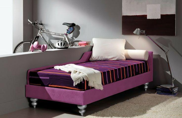BADROOM - centri camerette specializzati in camere e camerette per ragazzi - letto singolo imbottito