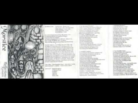 MORSTICE - Reflections Remain ◾ (demo 1993, UK death metal)
