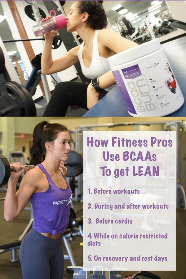 How Fitness Professionals Use BCAAs to Get Lean - http://blog.imprettyfit.com/supplements/how-fitness-professionals-use-bcaas-to-get-lean/  Are you using BCAAs correctly? Learn how top fitness professionals use them for optimal results. PLUS: BCAAs for women!