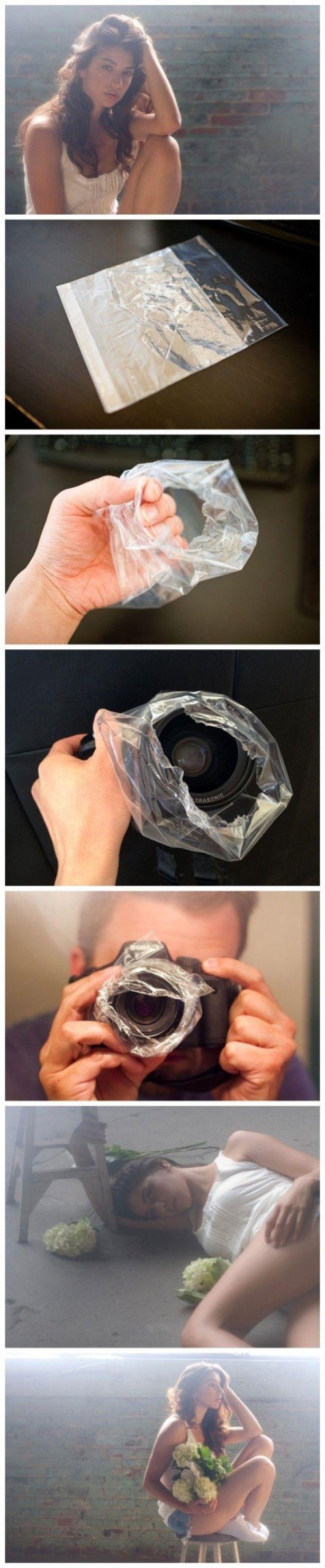 Plastic over lens