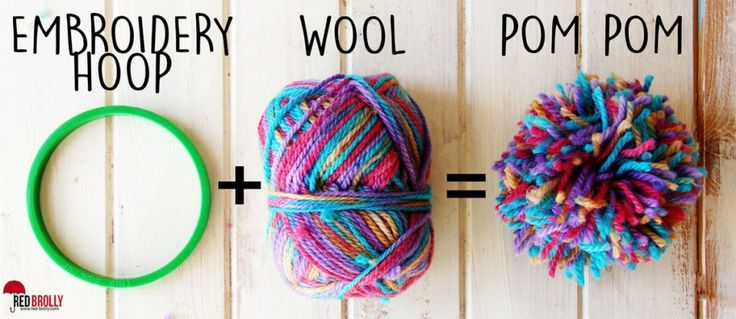 embroidery-hoops-to-make-pom-poms