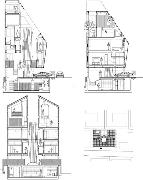 Best 25 multi family homes ideas that you will like on for Multifamily home plans