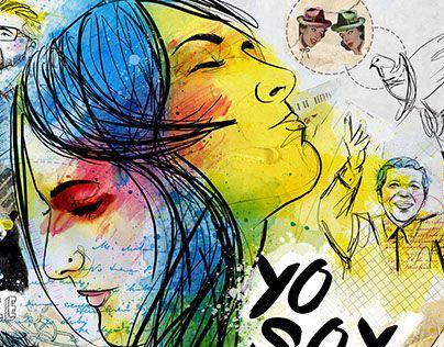 "Check out new work on my @Behance portfolio: ""illustration, Yo soy Paz - Mallpocket Magazine Colombia"" http://on.be.net/1Pfmzed"