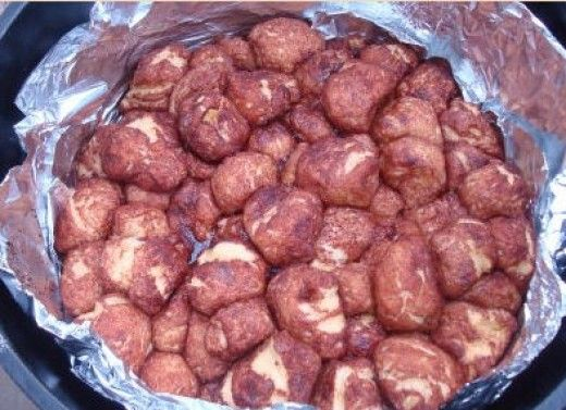 Campfire Monkey Bread - Easy Camping Recipes and Ideas for Kids