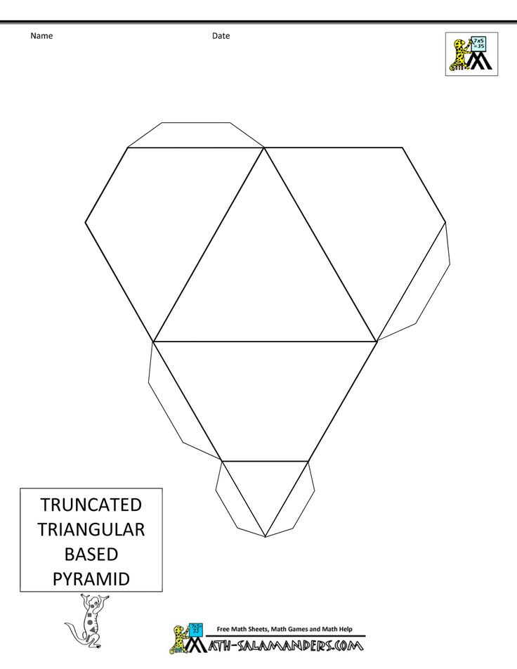 46 best images about 3d geometric box templates on pinterest