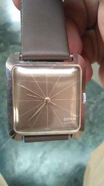 Vintage Doxa Grafic Wrist Watch