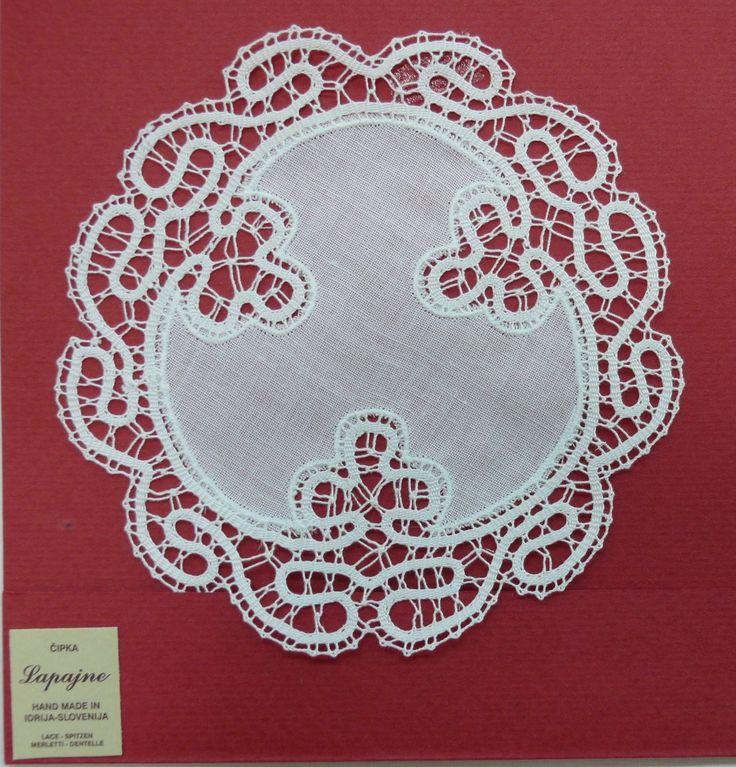 IDRIJA LACE A hand made bobbin lace