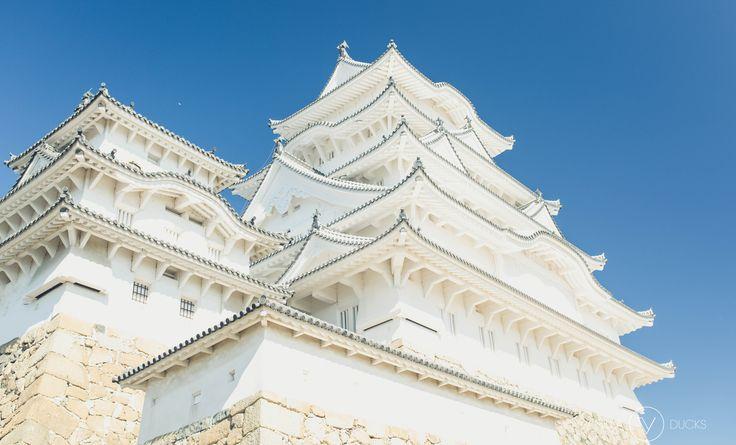 Le Château d'Himeji est sans aucun doute la principale attraction de la ville. Il est surnommé Château du Héron Blanc (Shirasagi-jō).