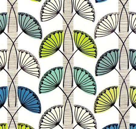 Fiona Howard print, 'Dandelion Clocks', I think.
