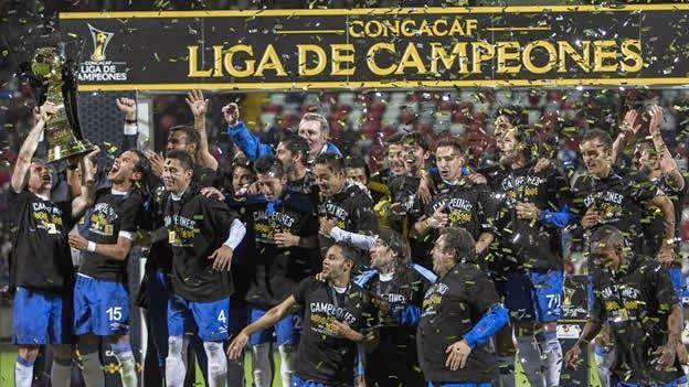 Cruz Azul, Campeón de la Liga de Campeones de la Concacaf 2014. Venció, no, perdón, empató (y con eso bastó) ante el Toluca a 1-1