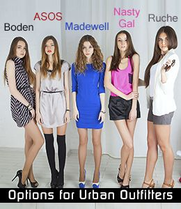 10 Womens Apparel Stores like: Urban Outfitters