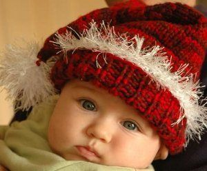 Santa's Little Helper Hat | AllFreeKnitting.com