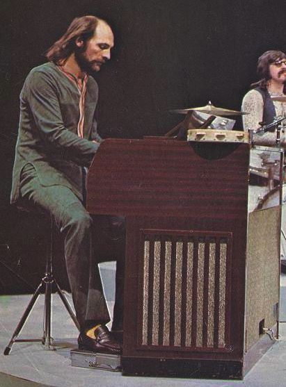 Mike Pinder. Mellotron king with his Mk2
