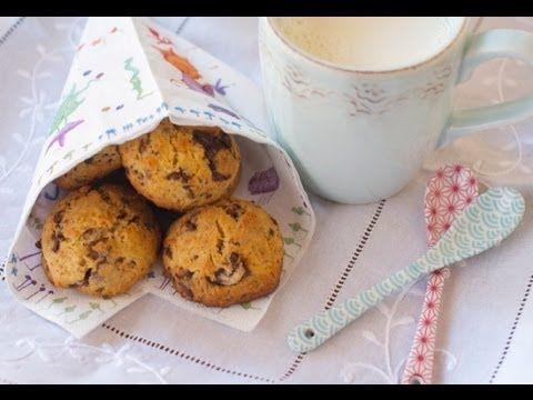 Receta de galletas de leche condensada con trocitos de chocolate. Receta rápida - YouTube