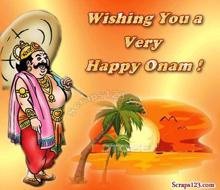 Facebook Images Cover Pic Status Image: Onam Orkut Scraps - 1