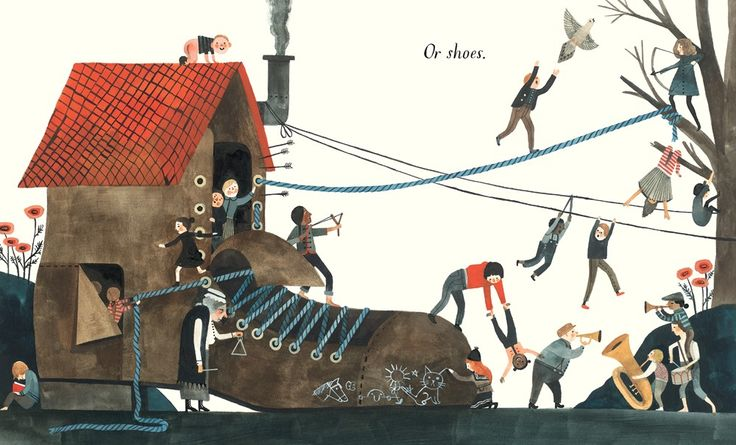 """Home"" written and illustrated by Carson Ellis. A celebration of the many things 'home' can mean"