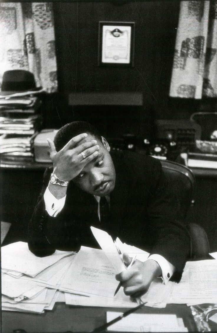 MLK wrestles with the problem of how to make the lofty dreams of our nation's founders a reality.    He had a dream; cynics have none.    He achieved much; the apathetic and cynical citizens have no excuse.     Civic responsibility means not waiting for MLKs to do all your hard work, and not using cynicism to rationalize civic uninvolvement.   Photo by Henri Cartier Bresson