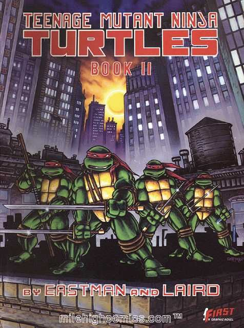 First Teenage Mutant Ninja Turtles Graphic Novel, Book II