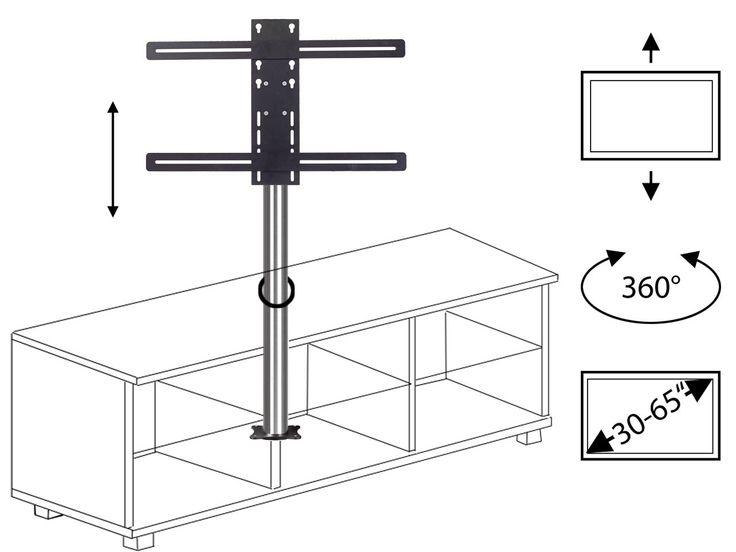 TV Säule zur Selbstmontage in Möbeln Darf ein TV-Möbel in Ihrem Wohnzimmer oder Home-Office ebenso wenig fehlen wie ein moderner TV Halter , mit dem Sie mehr Bewegungsfreiheit genießen, sind unsere TV Säulen zur Selbstmontage genau die richtige Wahl. Kombinieren…