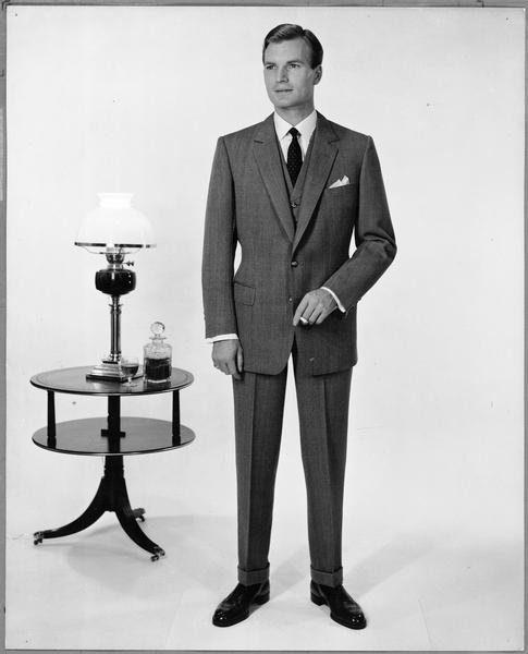 Resultado de imagem para Tapered pants and skinny ties 1960s