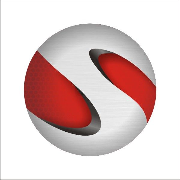 create a realistic 3d sphere logo from scratch using coreldraw logos pinterest