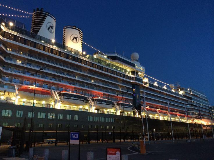Holland America Line's ship Eurodam in Stockholm.