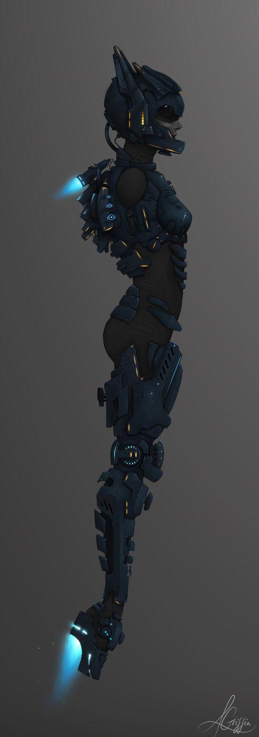 Female Body-Suit - Alternative by *AaronGriffinArt on deviantART