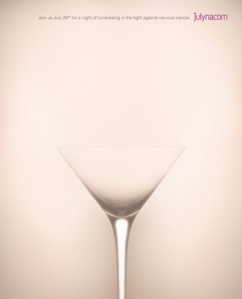Advertising inspiration: this image is not what you think it it, but rather clever advertising and simple photography.
