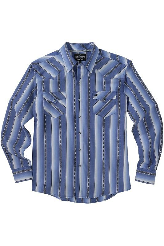 Garth Brooks Sevens by Cinch Ombre Stripe Shirt - Keddies