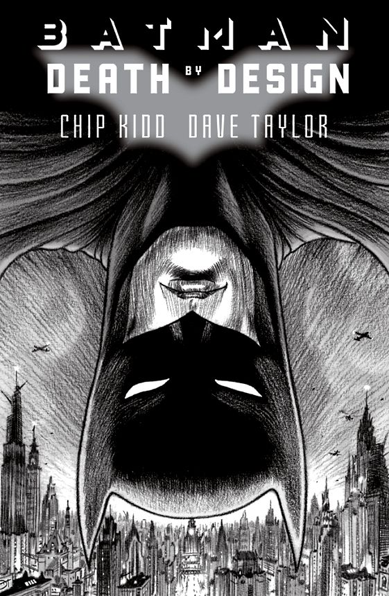 Cover Chip Kidd Batman Death by Design